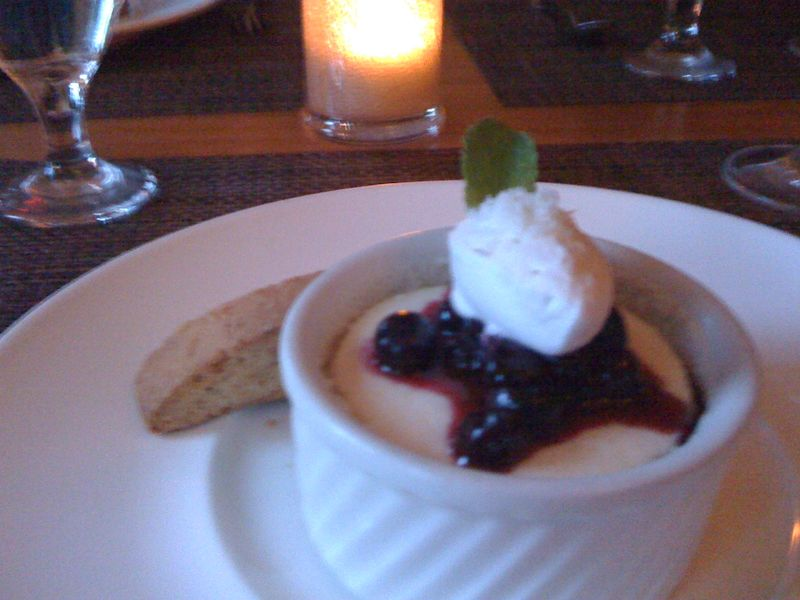 Dessert at oran mor