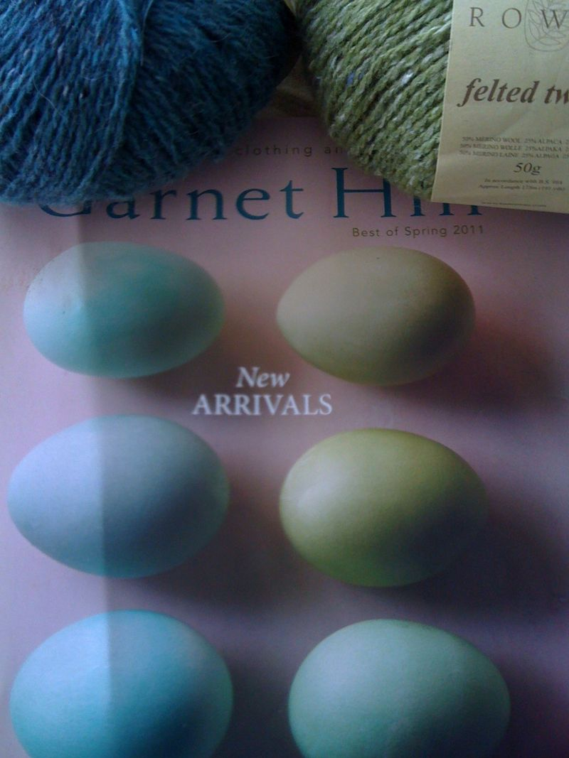Yarn on garnet hill