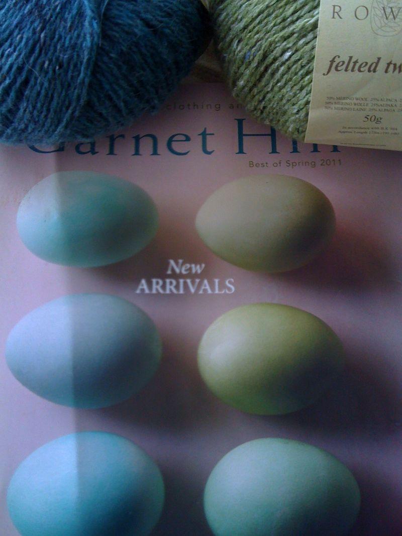 Yarn on garnet hill