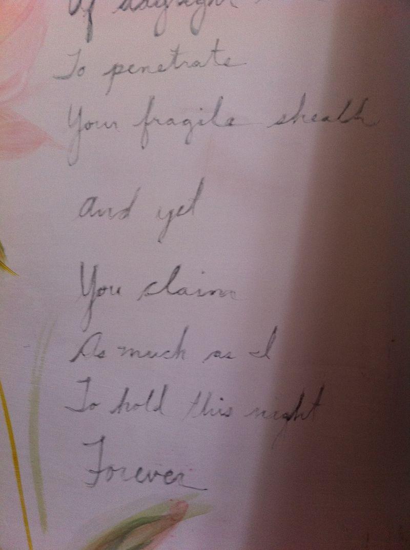 Ellen's poem