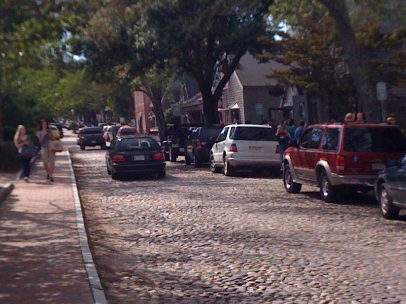 Downtown nantucket