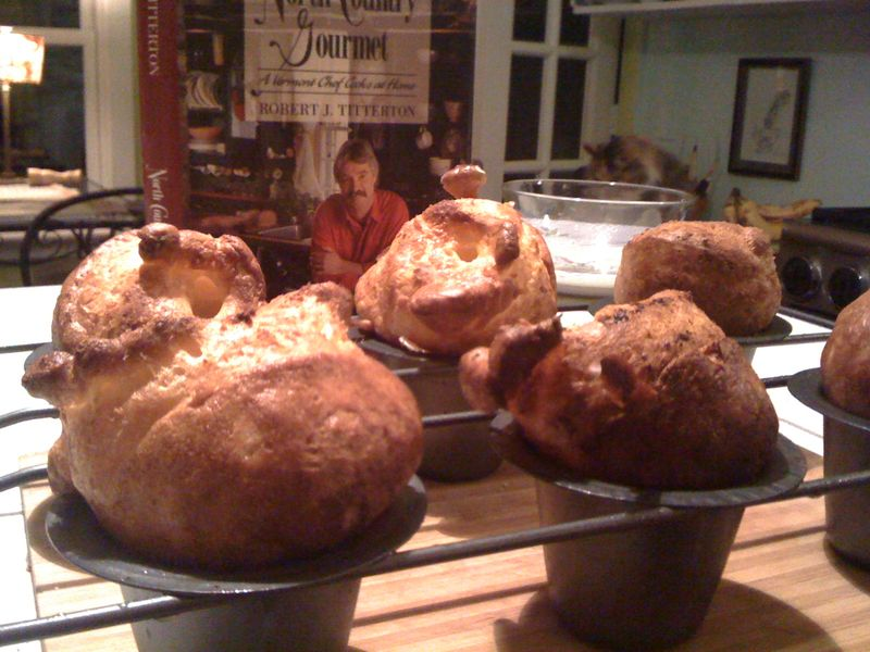 Popovers and book