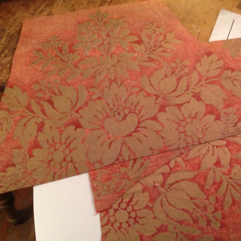 Fortuny lampshade panels