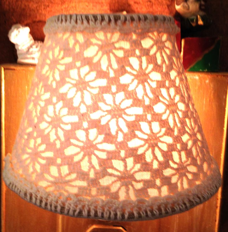 Crochet night light