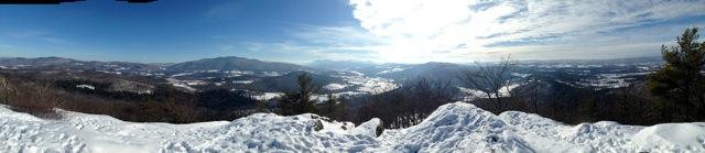 Top of haystack mountain